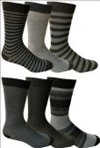 6 Pairs of Yacht&Smith Dress Socks, Colorful Patterned Assorted Styles (Pack D) - Mens Dress Sock