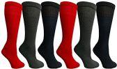 Womens Merino Wool Socks, Hiking, Camping, Lightweight Anti-Microbial Premium Wool (6 Pack) - Womens Thermal Socks
