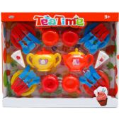 12 Units of TEA PLAY SET IN WINDOW BOX - Girls Toys