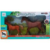12 Units of BROWN HORSE PLAY SET IN WINDOW BOX - Animals & Reptiles