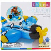 6 Units of WATER GUN PLANE RIDE ON IN COLOR BOX - Summer Toys