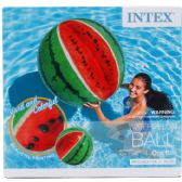 12 Units of WATERMELON BALL IN COLOR BOX - Summer Toys
