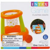 24 Units of FLOATING HOOPS GAME IN COLOR BOX - Summer Toys