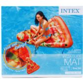 6 Units of PIZZA SLICE MAT IN COLOR BOX DESIGNED FOR ADULTS - Summer Toys