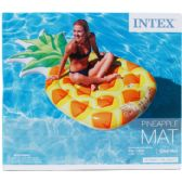 6 Units of PINEAPPLE MAT IN COLOR BOX DESIGN FOR ADULTS - Summer Toys