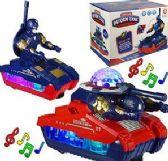 12 Units of Cartoon Deform Tanks - Cars, Planes, Trains & Bikes