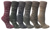 36 Units of Wool Socks For Women, Hunting Hiking Backpacking Thermal Boot Socks - Womens Thermal Socks