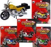 72 Units of Die Cast Metal Motorcycles - Cars, Planes, Trains & Bikes