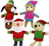 48 Units of Plush Colorful Christmas Assortments - Christmas Novelties