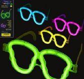 120 Units of Niceglow Glow Skull Eyeglasses - Light Up Toys