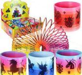 96 Units of Unicorn Magic Springs - Slime & Squishees