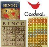 24 Units of Cardinal Bingo Sets - Dominoes & Chess