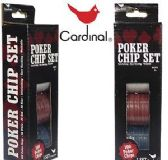 60 Units of Cardinal Hundred Piece Poker Chip Sets - Dominoes & Chess