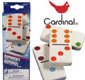 72 Units of Cardinal Double Six Color Dot Dominoes - Dominoes & Chess