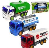 24 Units of Friction Powered City Utility Fleet Trucks - Cars, Planes, Trains & Bikes