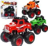 24 Units of Friction Powered Monster Racing Trucks - Cars, Planes, Trains & Bikes