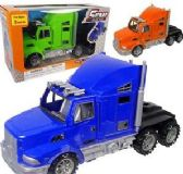 24 Units of Friction Powered Semi Road Kings - Cars, Planes, Trains & Bikes