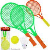 36 Units of Four Piece Badminton Tennis Sets - Summer Toys