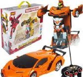 6 Units of Remote Control Glorious Mission Transforming Toys - Cars, Planes, Trains & Bikes