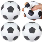 120 Units of Soccer Stress Relax Balls - Slime & Squishees