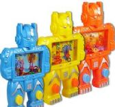 96 Units of Robot Ring Toss Water Games - Water Guns