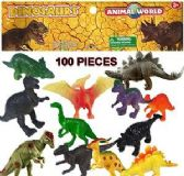 16 Units of Hundred Piece Animal World Dinosaur Sets - Animals & Reptiles