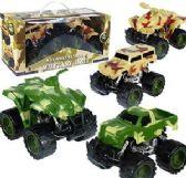 12 Units of Friction Powered Combat Patrol Vehicle Sets - Cars, Planes, Trains & Bikes