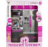 6 Units of Modern Kitchen Sets - Girls Toys