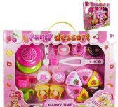 9 Units of Happy Time Dessert Party Play Sets - Girls Toys