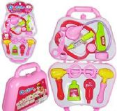 12 Units of Pink Doctors Kits - Girls Toys