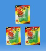 144 Units of Dart Gun Set In Blister Card - Toy Weapons