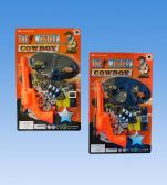 72 Units of Western Gun In Blister Card - Toy Sets