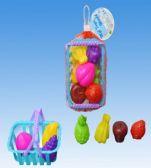 72 Units of Vegetable Set In Net - Girls Toys