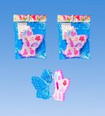 144 Units of Butterfly Makeup Set In Poly Bag - Girls Toys