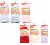36 Units of Womens Fuzzy Rib Thermal Socks Size 9-11 - Womens Thermal Socks