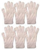 Yacht & Smith Mens Womens, Warm And Stretchy Winter Gloves (6 pack Light Pink Fuzzy) - Store