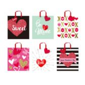 48 Units of Gift Bag Love - Valentine Gift Bag's