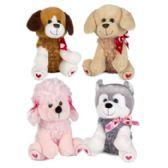 24 Units of Plush Soft Doggy - Valentine Decorations