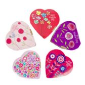 18 Units of Valentine Candy Chocolate Heart Fashion Flowers - Valentine Decorations
