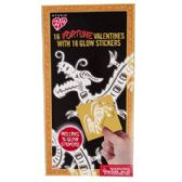 28 Units of Valentine Cards 16ct Glow In The Dark Good Fortune - Valentine Gift Bag's