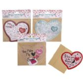 36 Units of Valentine Puzzle Card - Valentine Gift Bag's