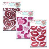 36 Units of Valentine Wall Stickers - Valentine Decorations