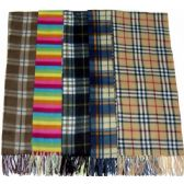 144 Units of Cashmere Winter Scarf Unisex Assorted colors and design - Winter Scarves