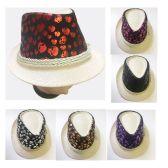 24 Units of Skull Design Fedora Hats in Assorted Colors - Fedoras, Driver Caps & Visor