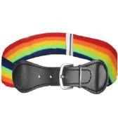 72 Units of Kids Belt Stretchable In Rain Color - Kid Belts