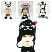 24 Units of Knitted Animal Hat in Assorted Styles - Winter Animal Hats
