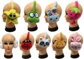 24 Units of Children's Super Soft Character Earmuffs - Ear Warmers