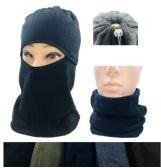 36 Units of Fleece Multipurpose Face/Neck Warmer Mask - Unisex Ski Masks