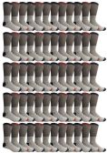 60 Units of 60 Pairs of Thermal Socks, Bulk Pack Thick Warm Winter Boot Sock, Extreme Weather, Mens & Womens (10-13 (Mens), 60 Pairs Assorted) - Mens Crew Socks
