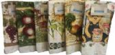 72 Units of 15X25 PRINTED VELOUR KITCHEN TOWEL - Kitchen Towels